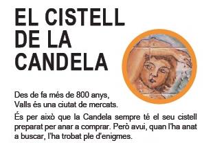 El cistell de la Candela, nova proposta infantil per a descobrir Valls