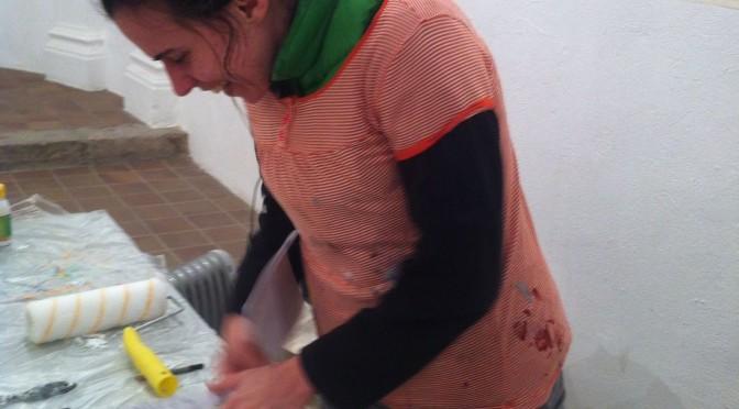 Taller de pintura amb Laura Fernandez Guibellini